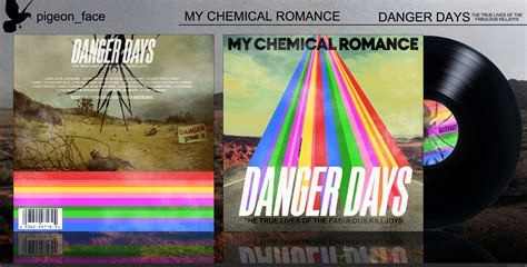chemical romance danger days  box art cover