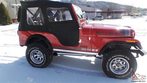 amc jeep amc jeep c j 5 renegade amc v8 304 4x4 3 speed