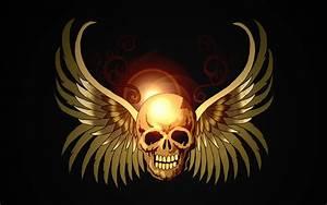 Skull- Wallpaper by 8i-Emmz-i8 on DeviantArt