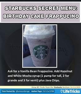 Starbucks Secret Menu: Birthday Cake Frappuccino ...