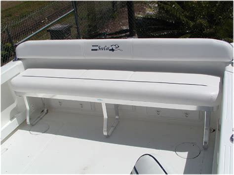 boat bench seat research 2014 sea cat boats 226 dc sport fisherman on