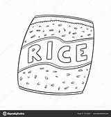 Rice Coloring Result Google sketch template