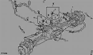 Steering Hoses  Mfwd  - Tractor John Deere 5065e
