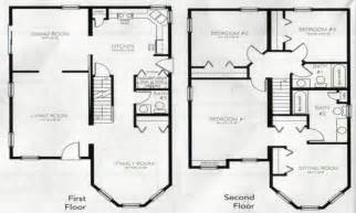 Images Story Bedroom House Floor Plans by 4 Bedroom 2 Story House Plans 2 Story Master Bedroom Two