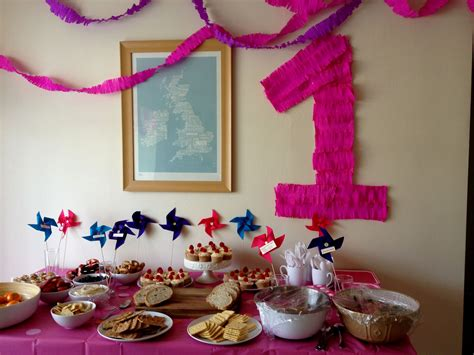 Fresh First Birthday Decoration Ideas At Home For Girl