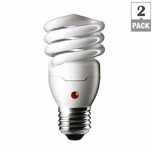 philips 60w equivalent soft white spiral dusk till dawn With philips dusk to dawn outdoor lighting