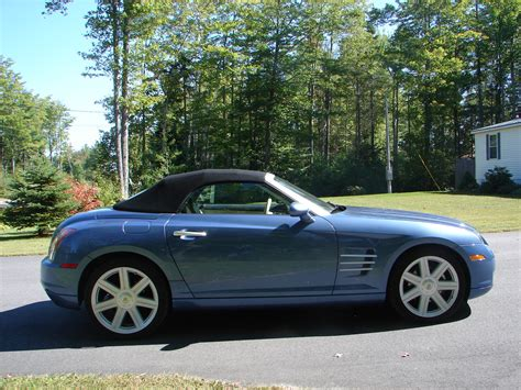 Chrysler Crossfire 2005 by 2005 Chrysler Crossfire Limited Convertible Pictures To
