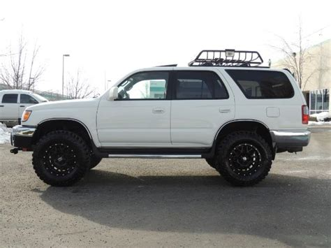 1999 toyota 4runner 4wd 5 speed xd wheels mud tires lifted