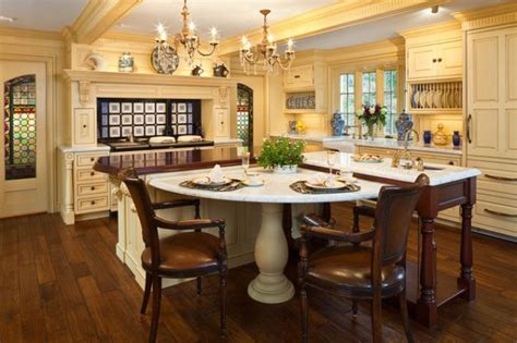 kitchen table island ideas 30 kitchen islands with tables a simple but very clever combo