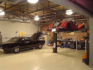 Ideas Modern Workshop Garage Interior Design Red - Home