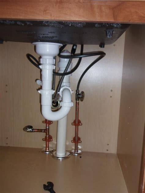 how to install pvc pipe under kitchen sink under sink pipes impressive design ideas plumbing a