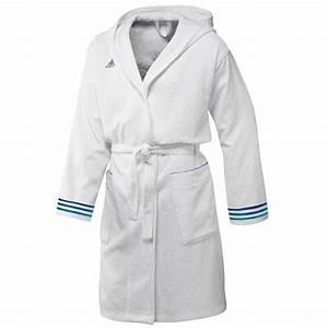 Herren Bademantel Adidas : adidas adi bathrobe herren bademantel x13089 weiss gr xxl uvp 80 eur ebay ~ Eleganceandgraceweddings.com Haus und Dekorationen