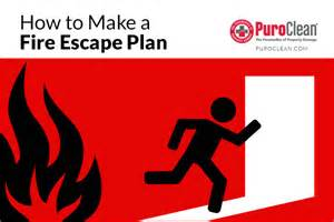 How to Draw a Home Fire Escape Plan