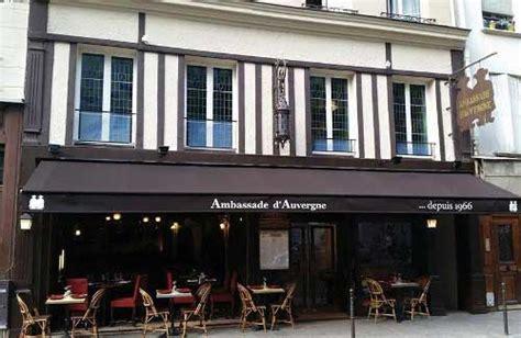 ambassade cuisine l 39 ambassade d 39 auvergne un restaurant auvergnat à