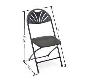 chair black folding fanback rentals burnsville mn where