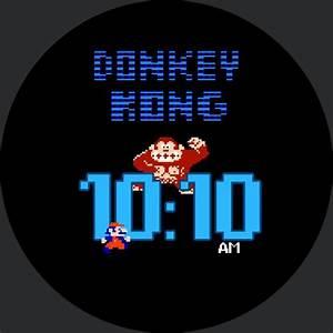 Retro Donkey Kong  U2013 Watchfaces For Smart Watches