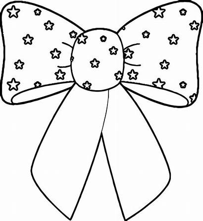 Coloring Bow Pages Printable Tie Jojo Siwa