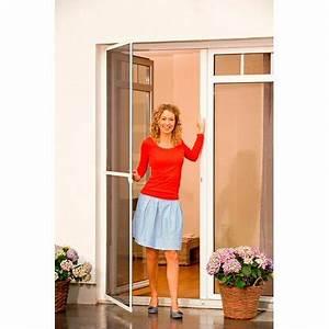 Fliegengitter Tür Obi : tesa fliegengitter alu rahmen comfort t r braun 220 cm x 100 cm kaufen bei obi ~ Watch28wear.com Haus und Dekorationen