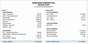 Short Term Loan Calculator Excel Balance Sheet Report Exceltemplate Net