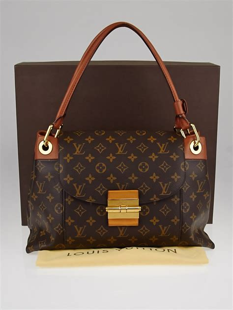louis vuitton havane monogram canvas olympe bag yoogis