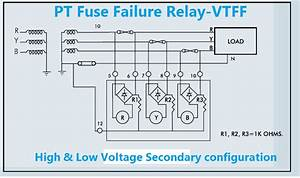 Pt Fuse Failure Relay Working Principle Vtff