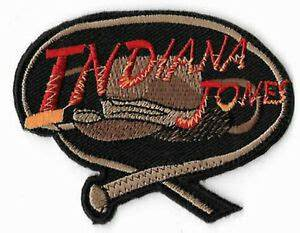 Indiana Jones Patch Embroidered Badge Costume Whip & Hat ...