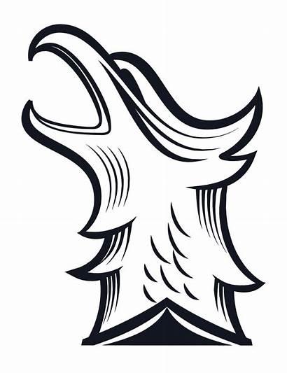 Phoenix Clipart Stencil Head Transparent Wimbledon Webstockreview