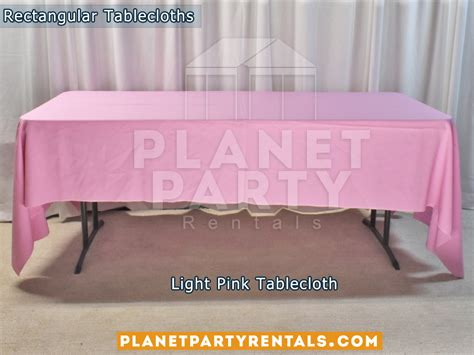 light pink table linens tablecloths rectangular round tablecloths