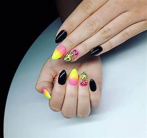 Cute Summer Acrylic Nail Designs 26 Colorful Nail Art Designs Ideas Design Trends
