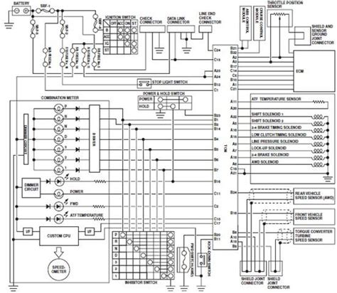 Subaru Fuel Wiring Diagram by Automatic Transmission Circuit Wiring Diagrams