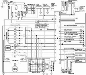 Automatic Transmission  U2013 Circuit Wiring Diagrams