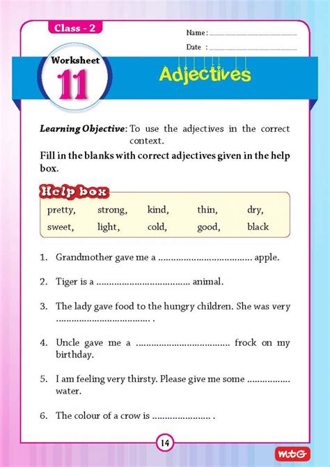 51 english grammar worksheets class 2 instant