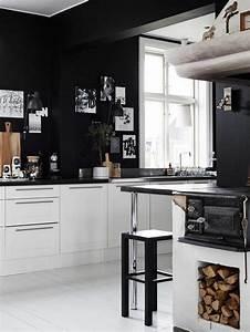 Ikea Küchen Beispiele : 30 k chengestaltung beispiele schicke ideen f rs k chen design inneneinrichtung pinterest ~ Frokenaadalensverden.com Haus und Dekorationen