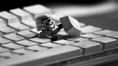 Lego Wars Star Stormtrooper Humor Wallpapers Keyboard