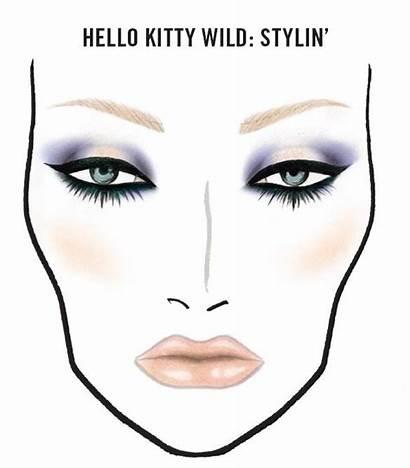Makeup Mac Face Charts Hello Kitty Chart