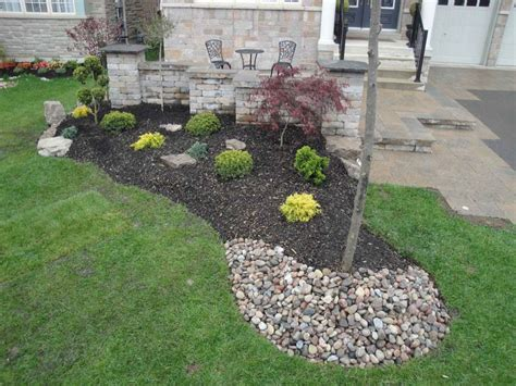 what can i use instead of mulch river rock landscaping model iimajackrussell garages to use river rock landscaping