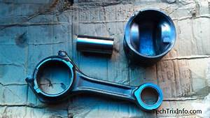 How To Assemble And Lock Piston  Connecting Rod With