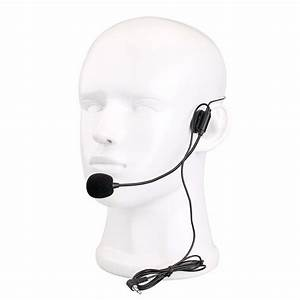 Mini Headset Microphone Condenser Mic For Voice Amplifier