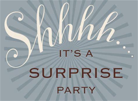 surprise surprise evite