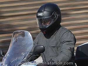 Test Shoei Multitec : essai casque modulable shoei neotec motostation ~ Jslefanu.com Haus und Dekorationen