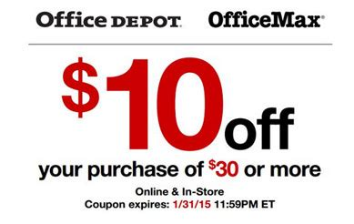 Office Depot Utah by Office Depot Coupon 10 A 30 Purchase Coupons 4 Utah