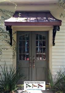 Metal Awnings Over Front Doors