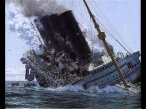 the titanic lusitania and britannic youtube