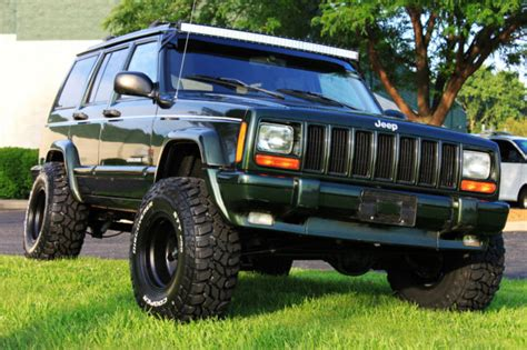 jeep xj lifted 1j4fj68s5wl156729 1998 jeep cherokee limited xj 70k low