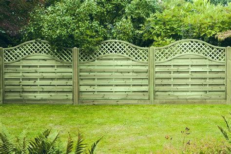 Curved Trellis Fencing by Arched Trellis Fence Panel Omega Free Delivery 50