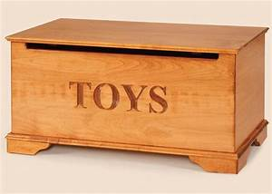 Maple Wood Toy Chest from DutchCrafters Amish Furniture