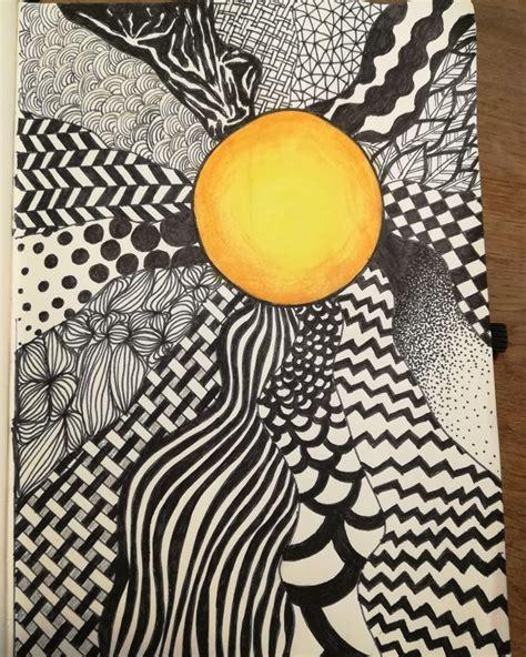 Zentangle sun | Sun art, Art, Art journal