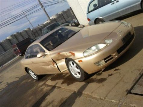 buy   lexus sc coupe  salvage project car