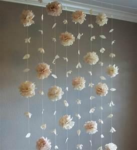 Faire Une Guirlande En Papier : fabriquer une fleur en papier de soie 67 id es diy remarquables ~ Melissatoandfro.com Idées de Décoration