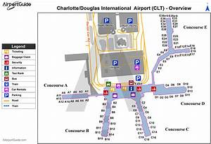 Charlotte Airport Parking Map